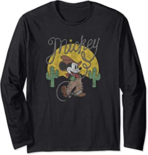 Mickey Mouse Cowboy Long Sleeve T-Shirt