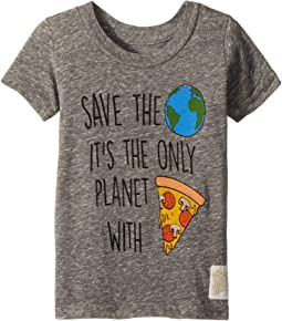 Save The Earth Short Sleeve Vintage Tri-Blend Tee (Toddler)
