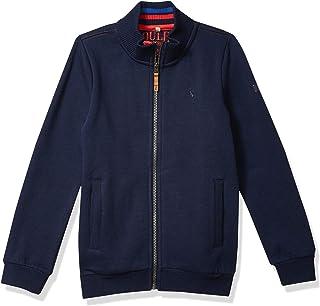 Joules Boys' Full Zip Funnel Neck Sweatshirt