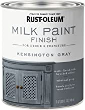 Rust-Oleum 331053 Finish Milk Paint, Quart, Kensington Gray