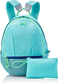 Under Armour Girls' Downtown Backpack, Tropical Tide (425)/Arena Green, One Size