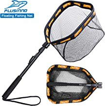 PLUSINNO Floating Fishing Net for Steelhead, Salmon, Fly,...