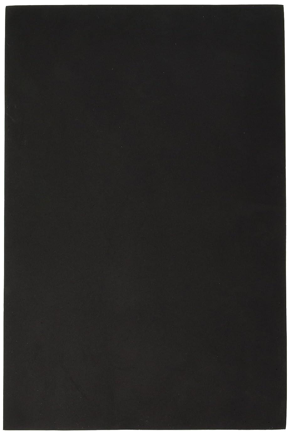 Foamies 11.81 Inch x17.7 Inch 3mm Foam Sheet Feuille Mousse Black Noir
