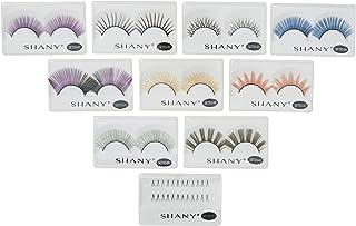 SHANY Eyelash extend - set of 10 assorted reusable eyelashes - Color Frenzy