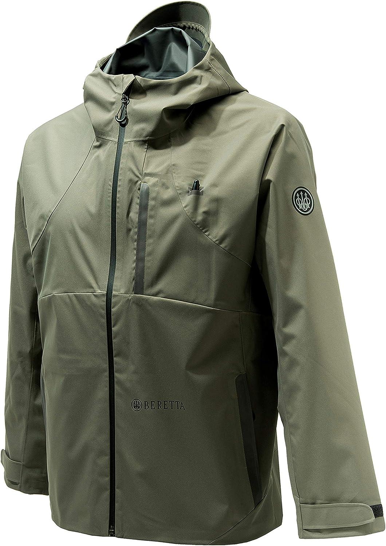 Beretta Men's Waterfowl Hunting Outdoor Lightweight Active Wp Packable Jacket