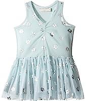 Stella McCartney Kids - Bell Tulle Dress with Metallic Daisy Print (Toddler/Little Kids/Big Kids)