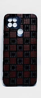 جراب خلفي شامواه لهاتف اوبو A15 - A15S -BLACK - أحمر
