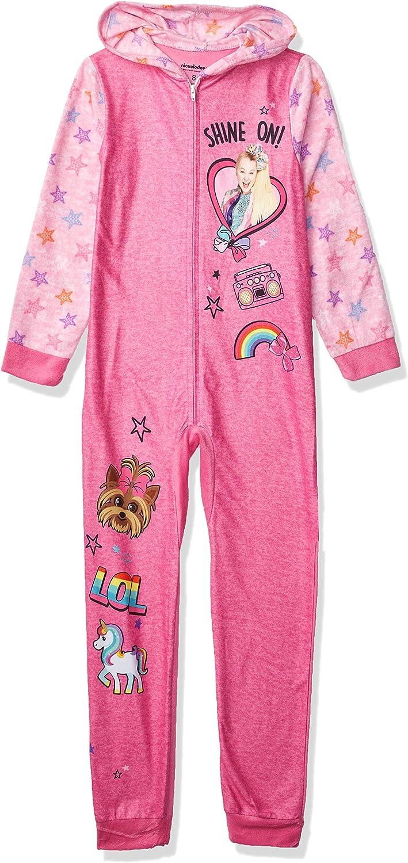 JoJo Siwa Nickelodeon Girls Hooded Union Suit