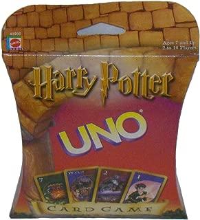 2000 MATTEL Harry Potter UNO Card Game