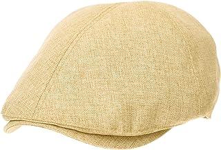 6758542b72e WITHMOONS Newsboy Hat Linen Simple Plain Summer Cool Gatsby Ivy Cap SL3984