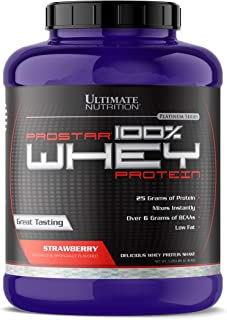 Best Ultimate Nutrition Pro Star Whey Strawberry 5.28 Lbs Review
