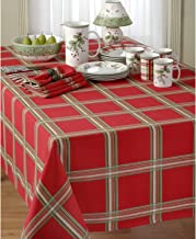 Lenox Holiday Gatherings Plaid Red Place Mats - Set of 2