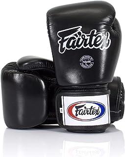 Fairtex Muay Thai Boxing Gloves BGV1 Size : 10 12 14 16 oz. Training Sparring All Purpose Gloves for Kick Boxing MMA K1 (S...