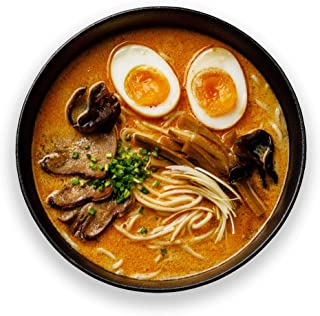 Takeout Kit, Japanese Spicy Miso Ramen Pantry Meal Kit - Just Add Protein, Serves 4