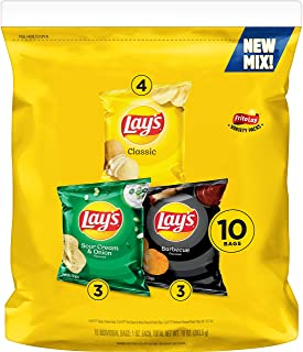 Lays Mix Variety Pack, 10 Count