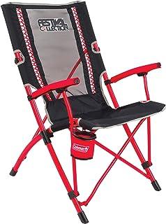 Coleman Bungee Chair Silla de Camping, Gris de Color Rojo, L
