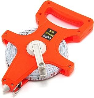 Elitexion 100-Feet Open Reel Fiberglass Tape Measure