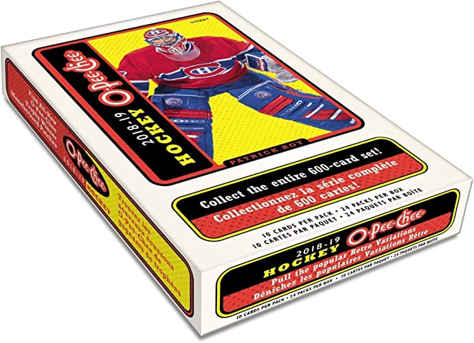 Upper Deck 2018 19O-Pee-chee Boîte de Hockey NHL