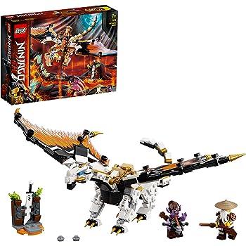 LEGO NINJAGODragone da battaglia di Wu, Playset con le minifigure di MasterWueGleck, 71718