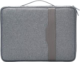 Travel Zipper Portfolio Organizer Multi-functional A4 Document Bag Business File Holder Breifcase for Surface Pro,MacBook Air,MacBook, iPads,Phones,Notebooks, Book,Planner