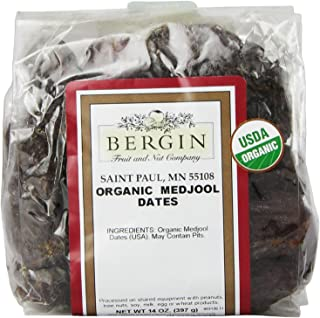 Bergin Nut Company Organic Medjool Dates, 14 Ounce Bag
