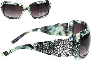 Camo Rhinestone Concho Sunglasses
