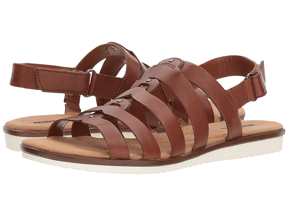 88f7d96d661 Clarks Kele Jasmine (Tan Leather) Women s Sandals