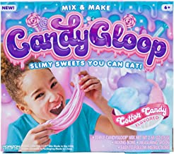 Candygloop Cotton Candy Edible Slime Kit by Horizon Group USA, DIY Edible Fluffy Slime Making Kit, Cotton Candy
