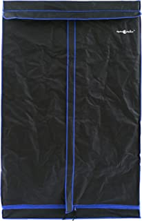 Hydroplanet 48x48x80 Mylar Hydroponic 600D 4'x4' Extra-Thick Canvas Grow Tent for Indoor Plant Growing (48x48x80)