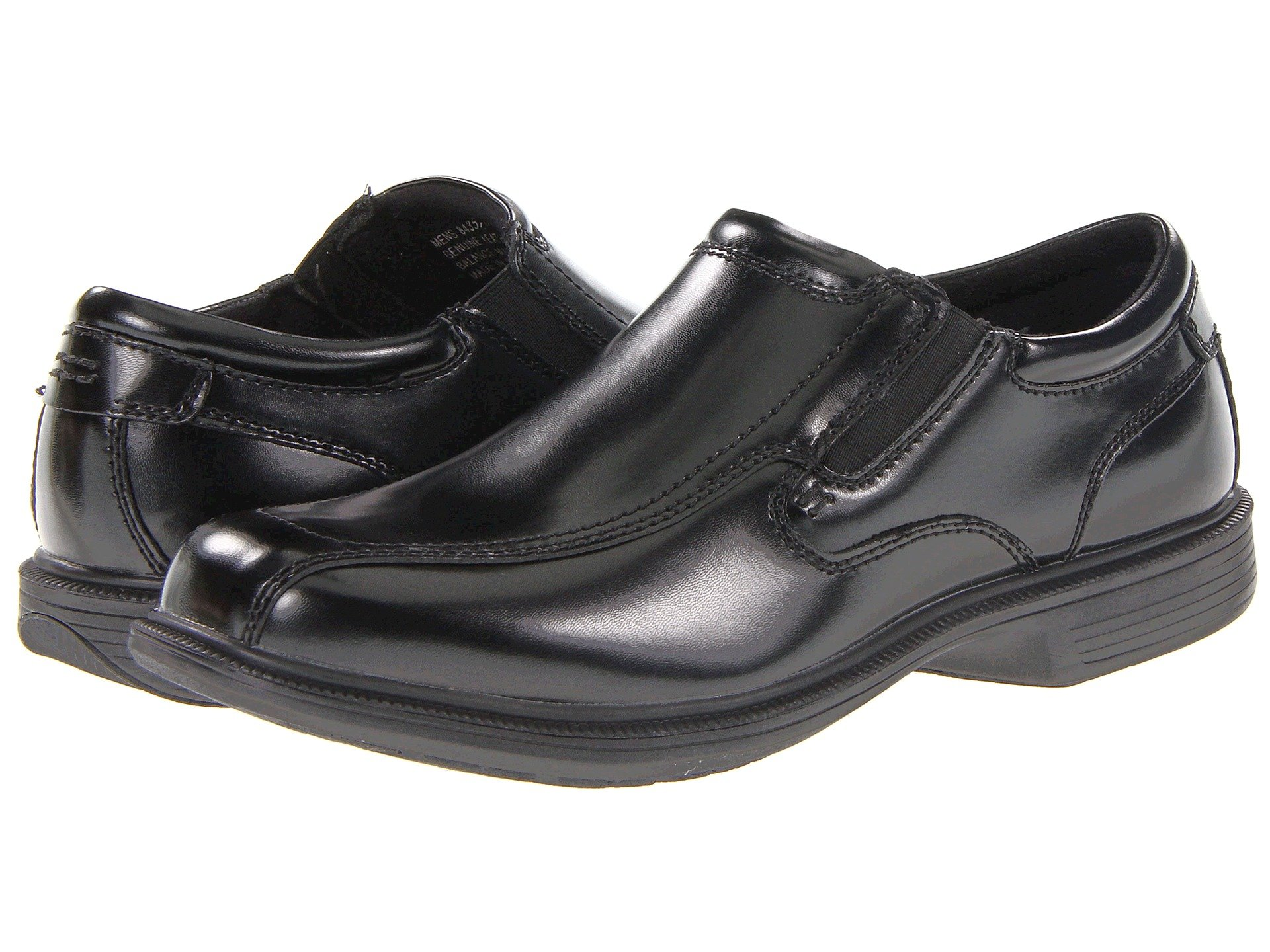 Bleeker Street Bicycle Toe Slip-On with KORE Slip Resistant Walking Comfort  Technology. Nunn Bush