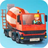 Little Builders - diggers, cranes and trucks for kids