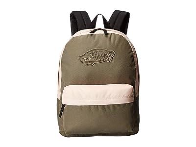 Vans Realm Backpack (Dusty Olive/Rose Cloud) Backpack Bags
