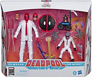 """Marvel Classic E88505L0 Comics 80th Anniversary Legends Series 6""""-Scale Vintage Comic-Inspired Deadpool & Hit-Monkey Colle..."""