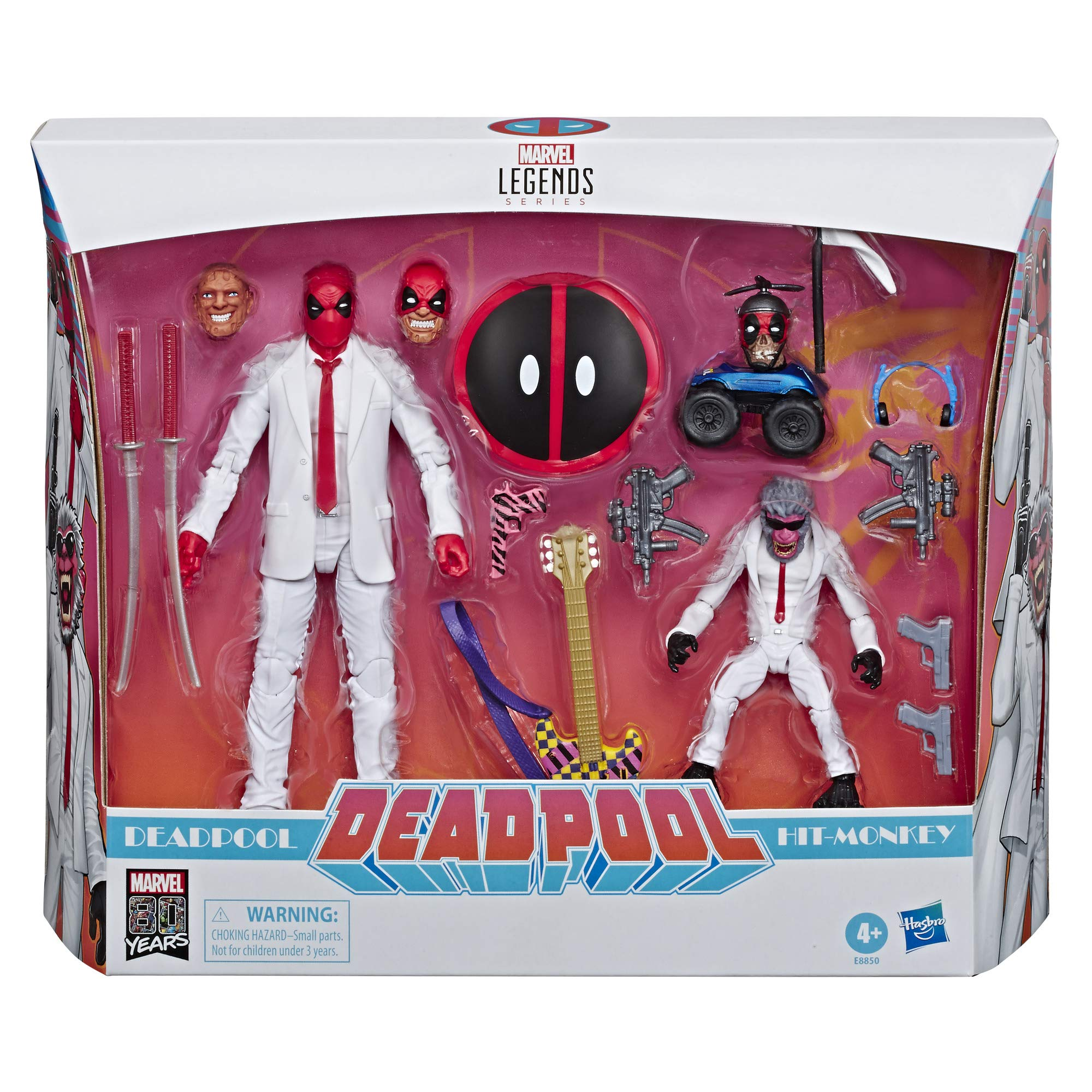 Marvel Legends - Pack Trajes (Hasbro E88505L0): Amazon.es: Juguetes y juegos
