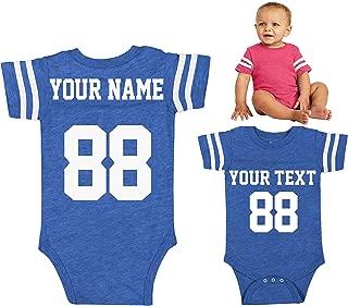 custom made football jerseys for babies