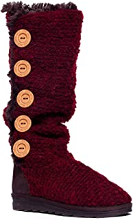 Women's Malena Crotchet Button Up Boot