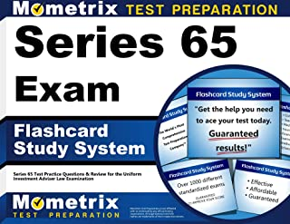 Series 65 Exam Flashcard Study System: Series 65 Test Practice Questions & Review for the Uniform Investment Adviser Law Examination (Cards)