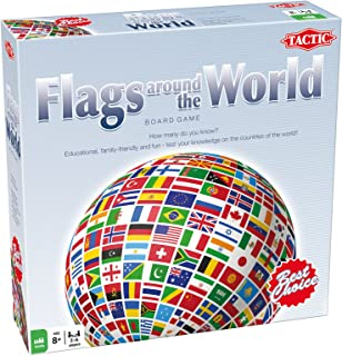 Tactic Games 52661 Flags Around The World