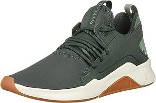 reebok green sports shoes