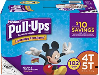Product of Pull-Ups Learning Designs Training Pants for Boys, Size 4T-5T, 102 ct. (diapers - Wholesale Price - Training Pants [Bulk Savings]