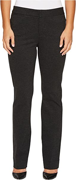 NYDJ Petite - Petite Ponte Trouser Pants in Charcoal