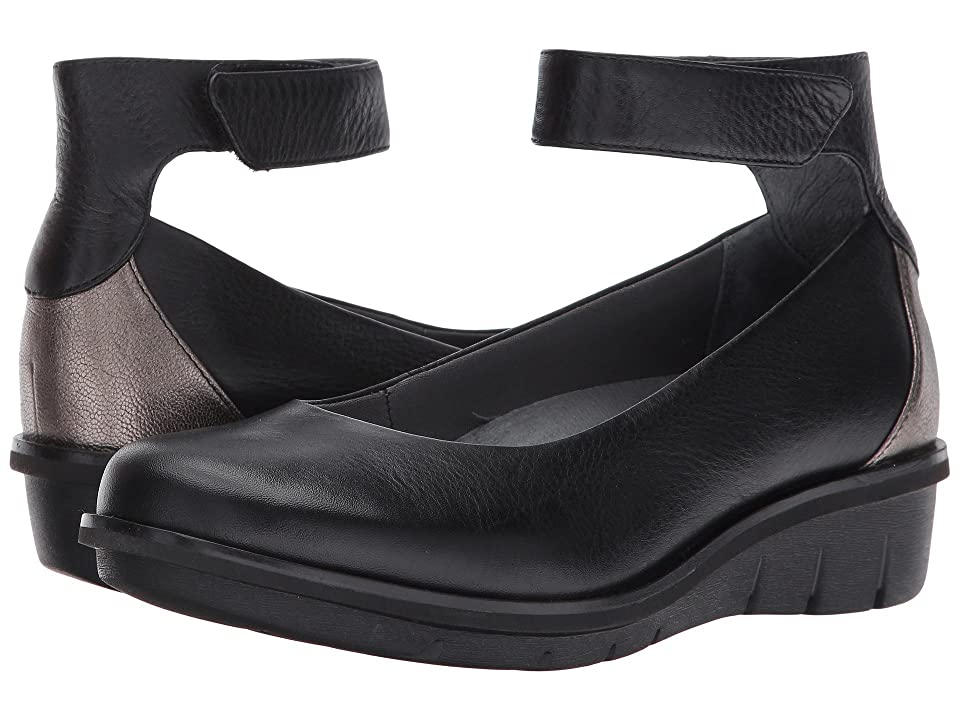 Dansko Jenna (Black Milled Nappa) Women