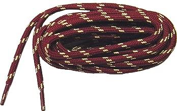 GREATLACES Burgundy w/Yellow Kevlar (R) proTOUGH(TM) Boot Shoelaces 2 Pair Pack