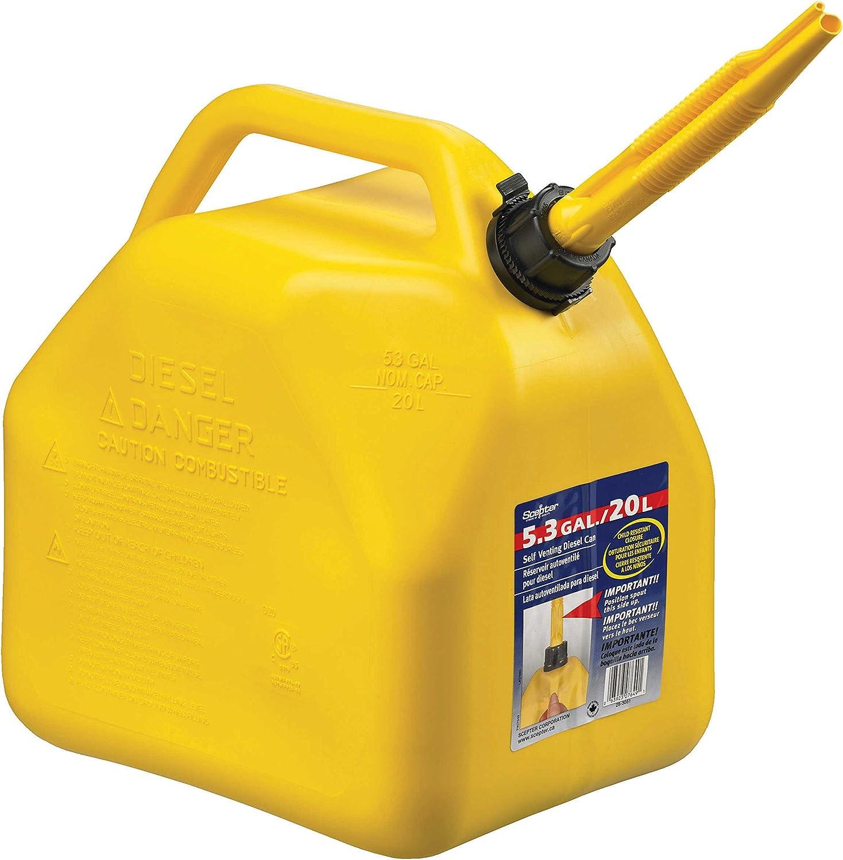 Scepter Arlington Mall Elegant 7649 Jerry Self-Venting Gas 5.3 gal Polyethylene Can