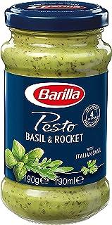 Barilla Basil and Rocket Pesto Pasta Sauce, 190g