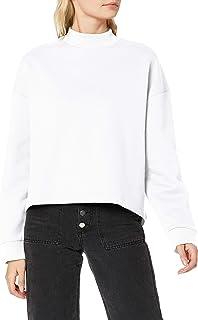 Urban Classics Women's Ladies Oversized High Neck Crew Sweatshirts