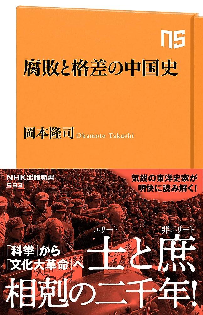 罹患率バケツナース腐敗と格差の中国史 (NHK出版新書)