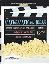 Best mathematical ideas 12th edition online Reviews
