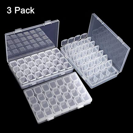 Wholesale Gem Display Multi Taille Boîte en plastique de rangement pour pierres précieuses//diamant