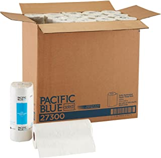 Pacific Blue Select 2-Ply Perforated Roll Paper Towels by Georgia-Pacific Pro, 100 Sheets Per Roll, 30 Rolls Per Case,white - 27300